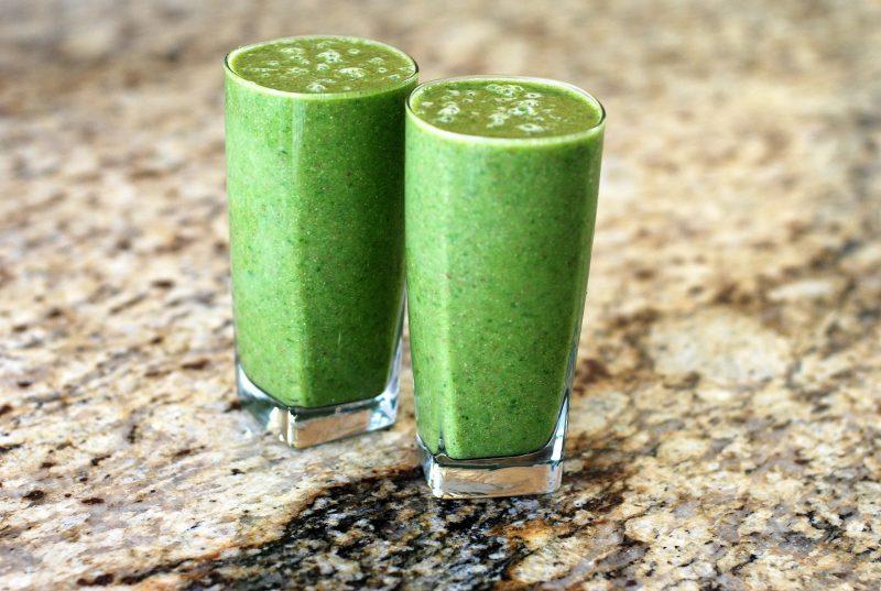 Zöld smoothie-k