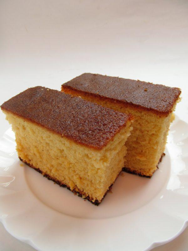 Sütemény- piskóta szelet