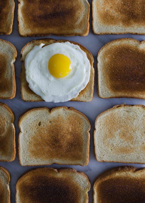 Pirítós és tojás